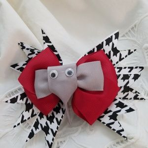 Other - Elephant hairbow. Roll Tide! Alabama! 🔺️2X HP🔺️